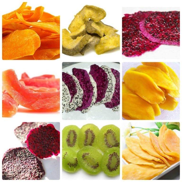 Ăn trái cây sấy nhiều có mập không?